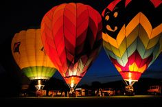 #Cricut balloon glow - albuquerque - color illumination