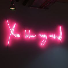 ✨yosoylaprincesa✨ neon nights, pink aesthetic, mind blowing quotes, my mind quotes Neon Light Signs, Neon Signs, Neon Aesthetic, Red Aesthetic Grunge, Aesthetic Vintage, Aesthetic Girl, Quote Aesthetic, Mind Blowing Quotes, Neon Licht