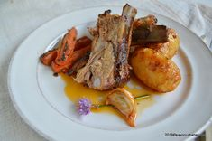 Porc la tava marinat cu iaurt si usturoi (2) French Toast, Bacon, Meat, Breakfast, Pork, Fine Dining, Morning Coffee, Pork Belly
