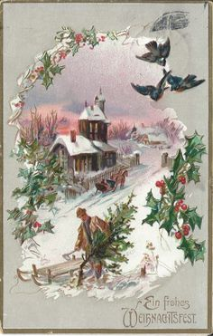 Vintage Christmas Card. From my private collection