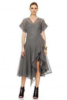 Romanian Fashion Brand since Designer. Fashion Brand, Fashion Art, Skirt Pants, Ss 15, Summer Collection, Wrap Dress, Mesh, Spring Summer, Boho