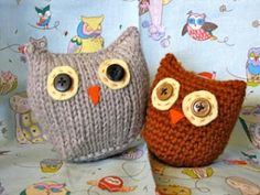 Owls 2 Ways at Ocean of Stitches