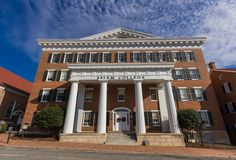 Main Hall at Salem College