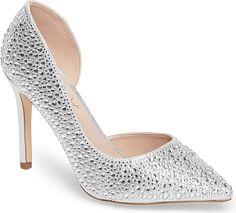 Lauren Lorraine Women's Shoes in Silver color. #shoes #fashion #style #footwear #shoe #shoesoftheday #shoestrend #shoeporn