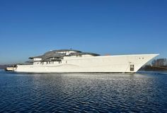 The largest Feadship superyacht to date spotted in North Holland