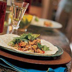 Weeknight Dinner Recipes: Ginger-Peanut Chicken-Salad Wraps