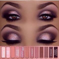 Smokey Pinks and purples