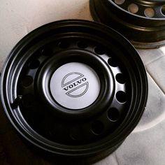 Winter steelies because Volvo #Volvo #volvo940 #volvo940turbo #steelies #740 #turbobricks #volvo4life #turbo #boostlife #trackdaybro