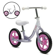 Bike for Kids No Pedal Balance Children Bicycle Girls Lavender Fun Games Outside #Unbranded