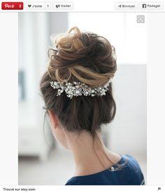 Headband inversé #Coiffure #Mariage