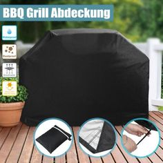 BBQ Cover 4 Burner Waterproof Outdoor UV Gas Charcoal Barbecue Grill Protector S Table Top Grill, Patio Grill, Electric Barbecue Grill, Bbq Grill, Gas And Charcoal Grill, Covered Garden, Bbq Cover, Clean Grill, Bbq Tools