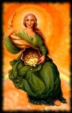 ORAÇÃO DA MESTRA FORTUNA Oração da Mestra Fortuna Fortuna, Deusa da abundância Das riquezas de Deus no Alto Libera os t...