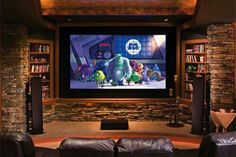 If you love watching movies and TV shows and have always wanted a home theatre at home.You can create mini home theatre in your living room using these tips
