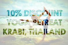 Balanced Yoga Retreat Krabi Thailand. Relax Learn Holiday