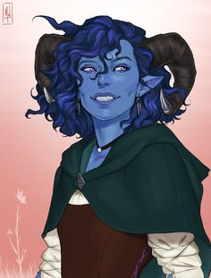Jester - Tiefling Cleric from Critical Role Dungeons And Dragons Characters, Dnd Characters, Fantasy Characters, Female Characters, Fantasy Figures, Fantasy Races, High Fantasy, Critical Role Characters, Critical Role Fan Art