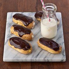 Gluten Free Banana Cream Eclairs recipe -