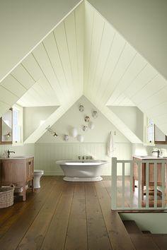 Create a calming bathroom escape with craftsman style, sun-soaked tones, and Kohler bathroom essentials.