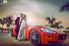 12 Pics To Show That Super Cars are The Most Favourite Couple Shoot Props! #Ezwed #PreWedding #Photography #SouthIndianMarriage #Wedding