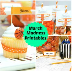 March Madness Printables from BirthdayExpress.com