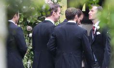 James Matthews arrives for Pippa Middleton wedding