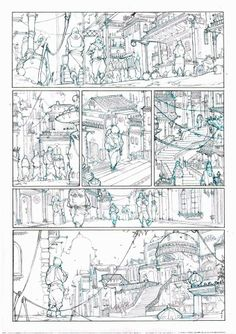 Page layout focusing on passage through a city, and passage of time. https://www.facebook.com/pages/Álvaro-Prieto-Hernández-Escritor