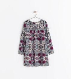 ZARA - COLLECTION AW14 - PRINTED DRESS