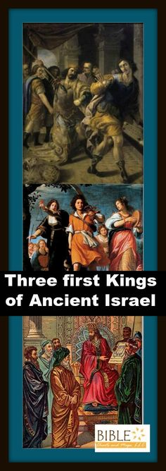 the first three kings of israel essay The books of kings the two books of kings are regarded by many as the last part of a work commonly known as the deuteronomistic history the latter tells the story.