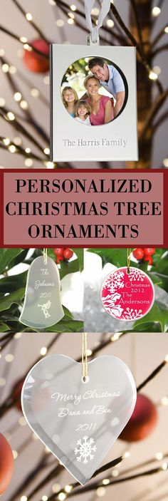 Give something to family and friends they can admire every holiday season with personalized Christmas ornaments. These unique ornaments are one-of-a-kind when custom printed or engraved with your name or names and year. These personalized tree ornaments can be ordered at http://myweddingreceptionideas.com/personalized_christmas_ornaments.asp