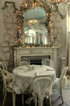 Aiken House & Gardens: Shabby Chic Romantic Tea Room
