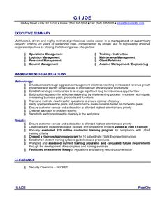 Resume Summary Example Resume Format Sample Cv Format Cv Resume Application Letter Nice
