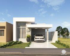 Duplex House Design, Small House Design, Modern House Design, Modern Mansion, Dream House Exterior, Happy House, Mansions Homes, Facade House, House Goals