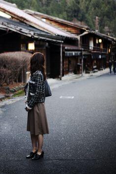 妻籠宿(長野県木曽郡南木曽町)