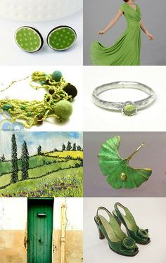 GREEN is the color of your sparkling eyes, in the morning, when I rise! by Susan McNeil-Smith on Etsy--Pinned with TreasuryPin.com
