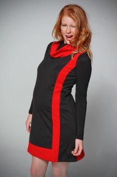 Robes grossesses tous les jours - Robe de grossesse noire et rouge Twiggy red  http://www.mammafashion.com/robes/robes_grossesses_tous_les_jours/twiggy_red-fr-prd2636.html