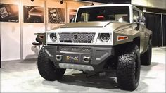 USSV US Specialty Vehicles Rhino XT at the 2015 LA Auto Show - tecnologiabelicayarmas.blogspot armas