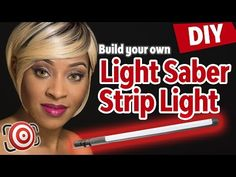 DIY Strip Light Modifier for Speedlights.  Strip Light Portrait Photography in Studio or on Location - YouTube