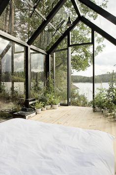 Habitación invernadero. The room of my dreams by Kekkilä Vihervaja