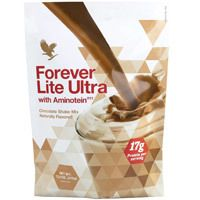 Forever Lite Ultra with Aminotein Nutrition Chocolate Shake of Protein per Serving) - Weightloss Heaven Garcinia Cambogia Diet, Forever Living Aloe Vera, Slimming Pills, Vanilla Milkshake, Chocolate Shake, Detox Program, Raspberry Ketones, Meal Replacement Shakes, Forever Living Products