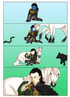 Loki and kids