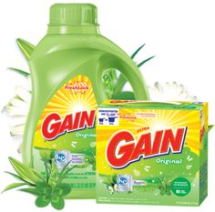 Gain-don't waste your time buying cheap detergent, you will have to use way more than it says and it still won't smell as good-just use what works! :)