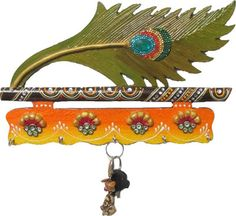 Wall Decor:eCraftIndia Mor Pankhi