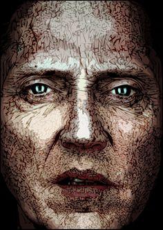 FAZ - Christopher Walken - illustrated by Burkhard Neie