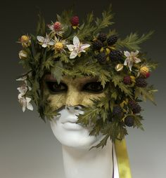 Gorgeous!  From a favorite Etsy shop. . .Rubus Ursinas Pacific Blackberry by TheArtOfTheMask on Etsy