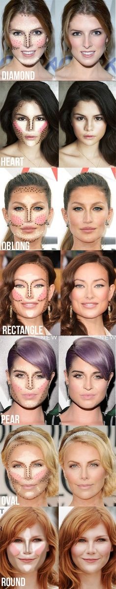 How To Contour Highlight Based On Your Face Shape
