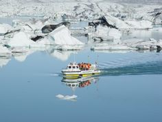 Glacial Lagoon Jökulsárlón, Iceland