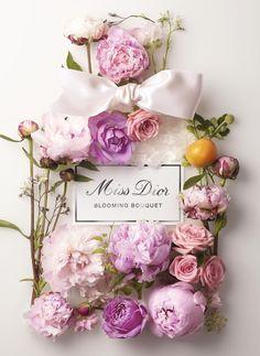 Parfum Miss Dior, Dior Perfume, Dior Fragrance, Perfume Bottle, Fragrances, Miss Dior Blooming Bouquet, Perfume Floral, Flower Perfume, Fleur Design