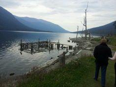 Lago Escondido en Ushaia, Tierra del Fuego