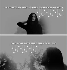 Besides, she was the Wraith, the only law that applied to her was gravity, and some days she decided that too.