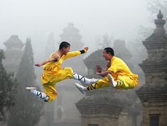 World class martial arts in Shaolin Temple. The monks train kungfu to kids as young as 3 years old- and yes they teach to those of us who are not Chinese heritage too (though you may have to brush up on your Mandarin first!)