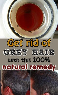 Get rid of grey hair with this 100% natural remedy @ Beauticious.net